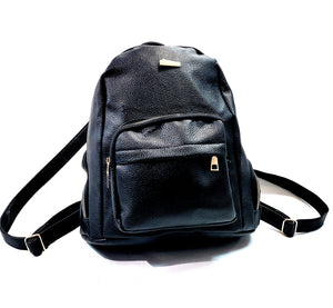 Unisex  Backpack Travel Shoulder Bag Rucksack School Bag Black