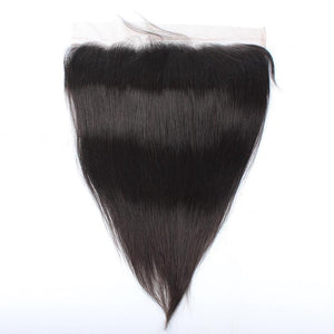 13x4 Lace Straight Frontal Hair - Length from 10'' to 20 ''