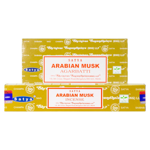 Arabian Musk Incense Single Pack & 12 Pack