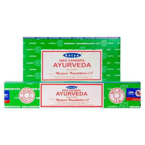 Ayurveda Incense Single Pack & 12 Pack