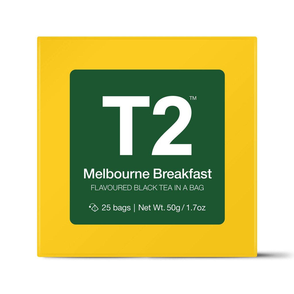 Melbourne Breakfast Teabag Gift Cube
