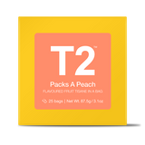 Packs A Peach Teabag Gift Cube