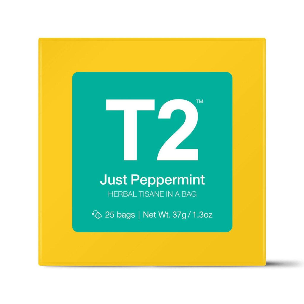 Just Peppermint Teabag Gift Cube