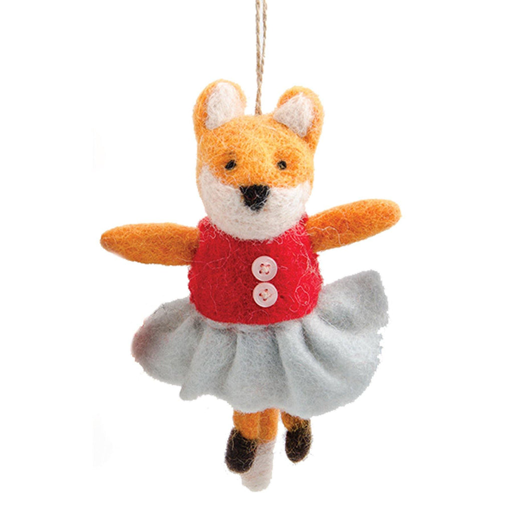 Felt Mrs Fox Decoration