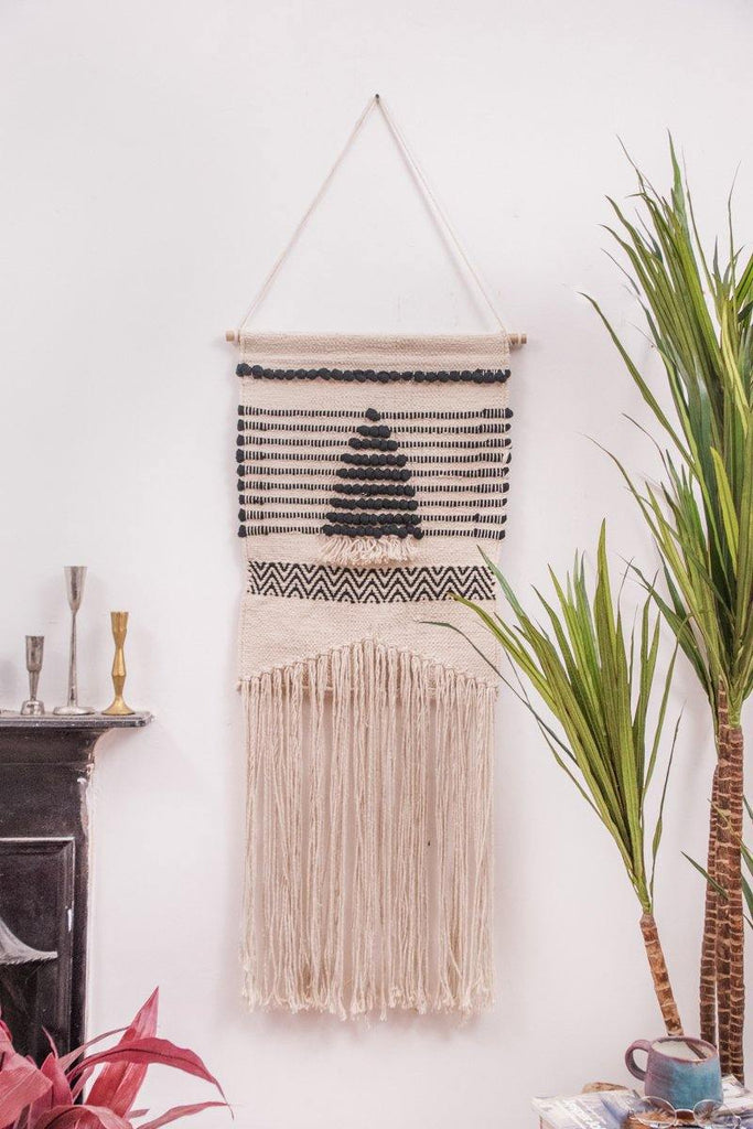 Hand Woven Cotton Wall Hanging