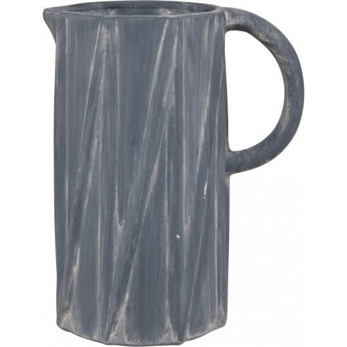 Slate Decorative Earthenware Jug