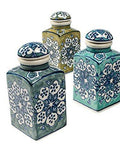 Handpainted FairTrade Ceramic Spice Jar