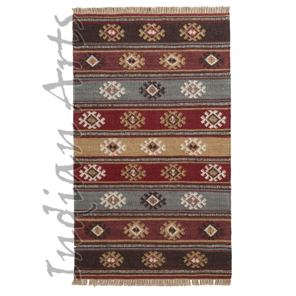 Zanskar Indian Kilim Rug