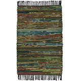 Cotton & Fleece Chindi Rag Rug