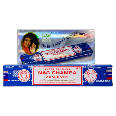 Nag Champa Incense Single Pack & 12 Pack