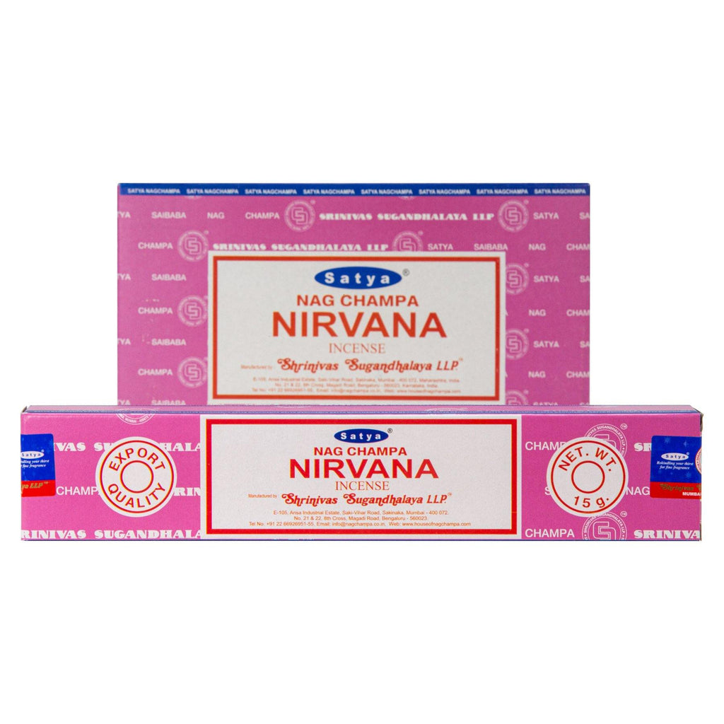 Nirvana Incense Single Pack & 12 Pack