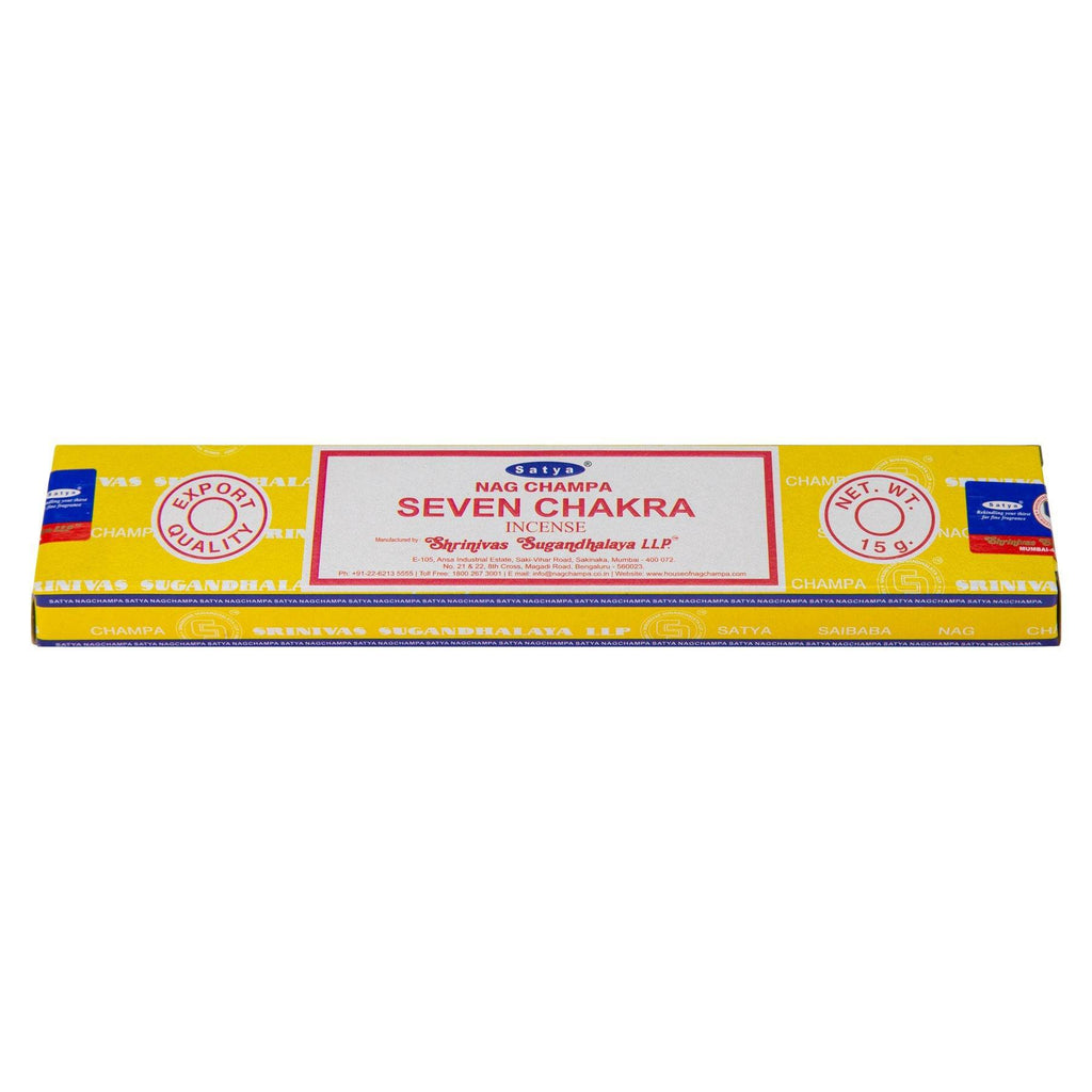 Seven Chakra Incense Single Pack