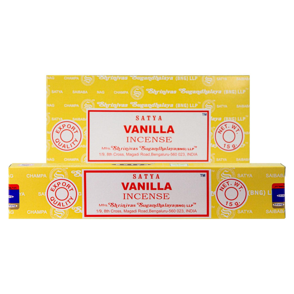 Vanilla Incense Single Pack & 12 Pack