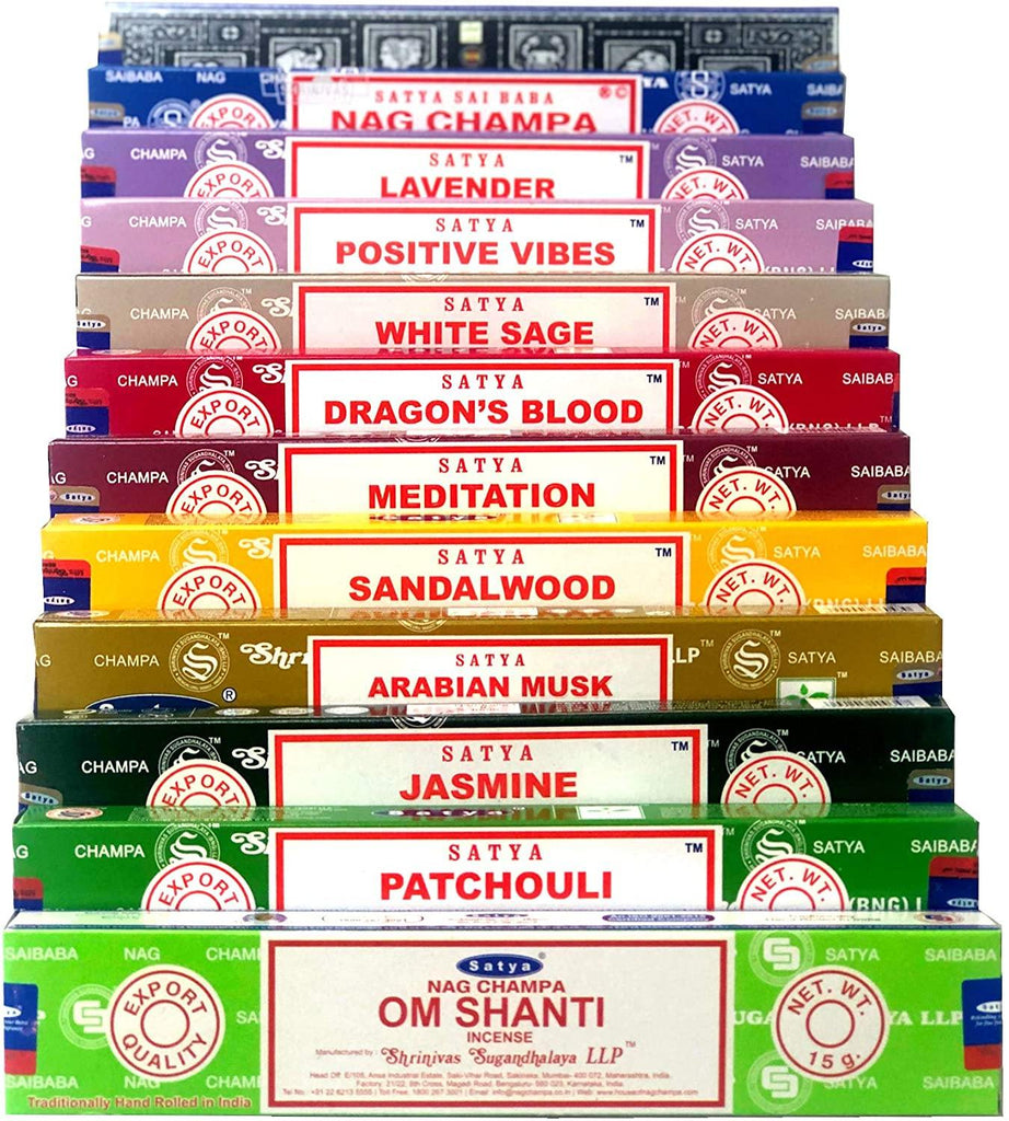 Satya Om Shanti Incense Set C