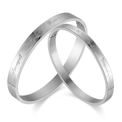 Couple lover Stainless Steel Bracelets For Womens Mens - Steel Divines