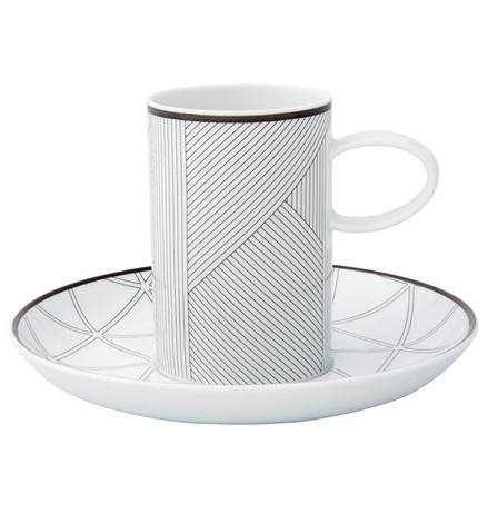 Orquestra - Coffee Cup And Saucer Black
