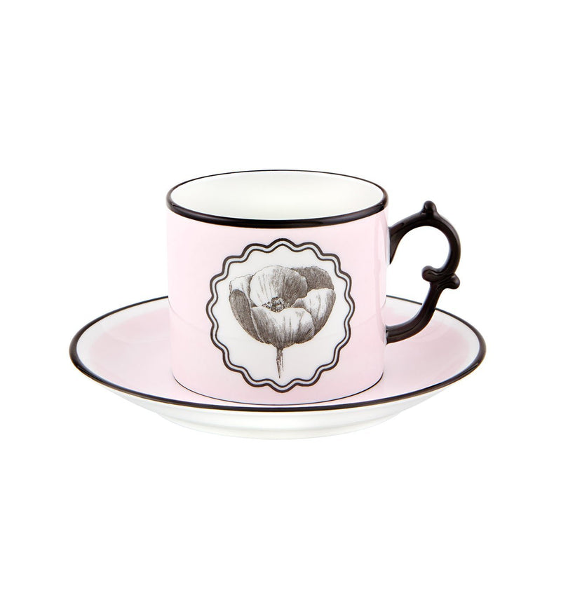 Herbariae - Tea Cup And Saucer Pink