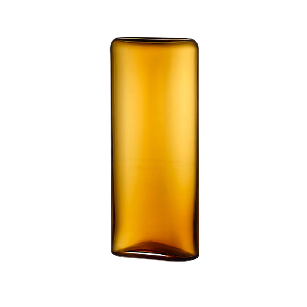 Layers Vase Tall in Amber