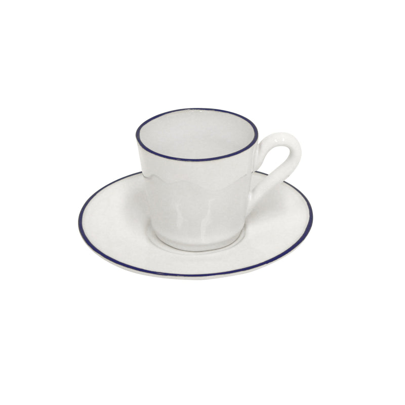Beja white - Coffee cup & saucer