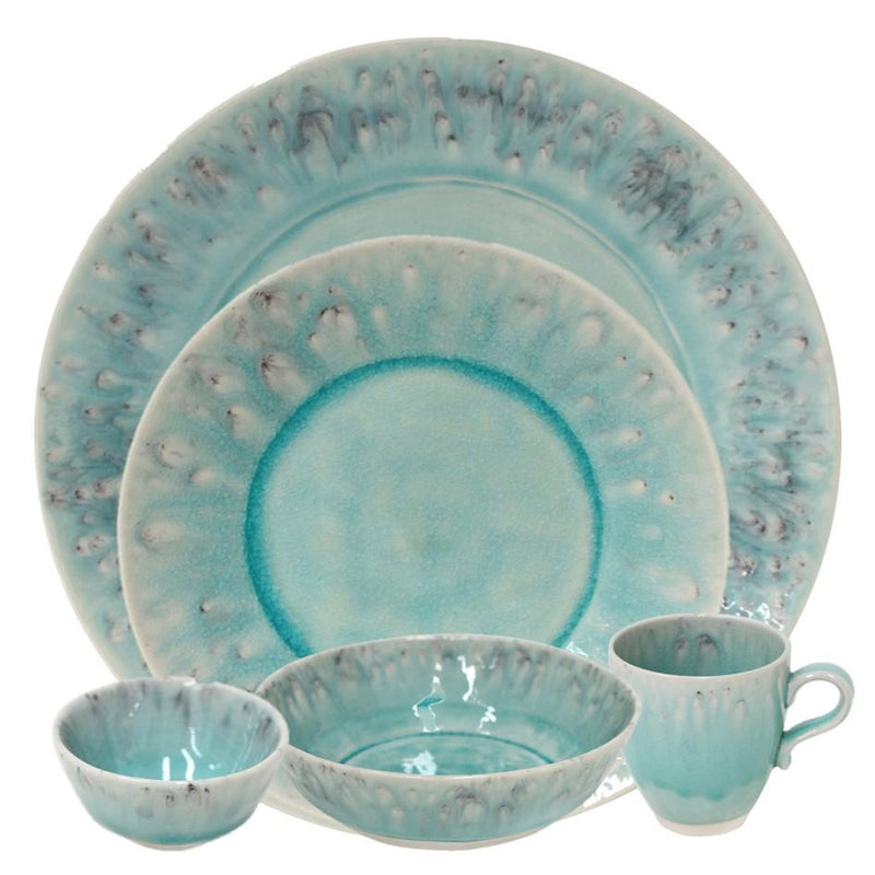 Madeira blue - 5-pc place setting