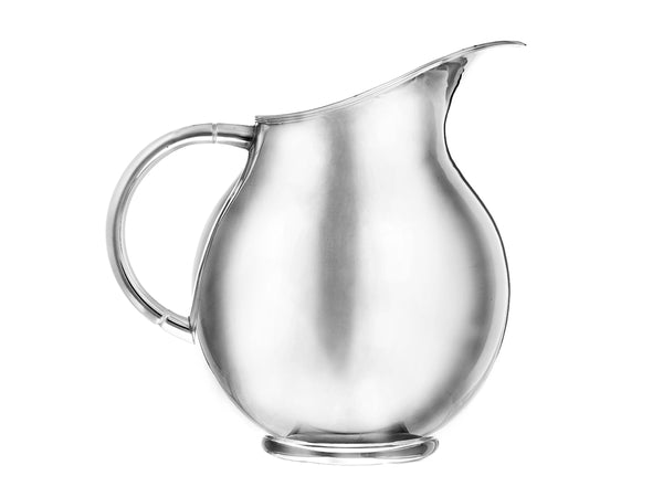 Silver plated balloon pitcher