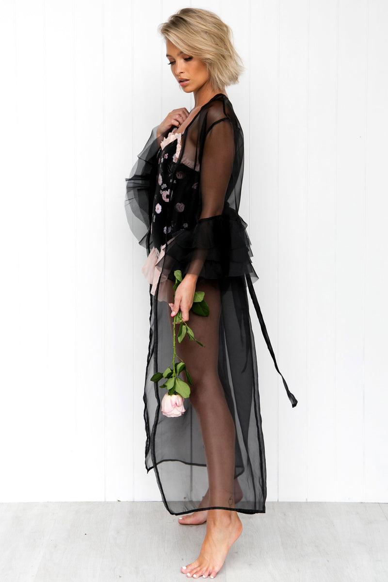 Princesse Robe - Black