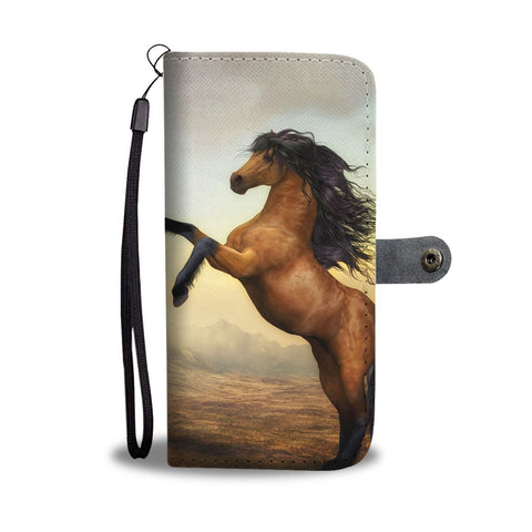 Awesome Horse Painting Print Wallet Case-Free Shipping
