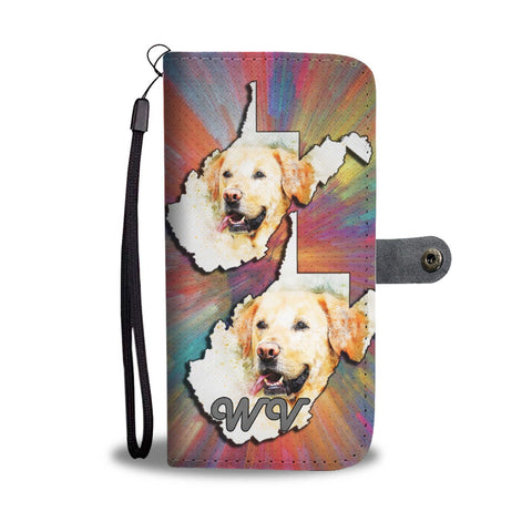Labrador Dog Art Print Wallet Case-Free Shipping-WV State