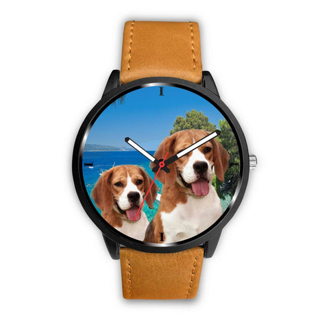 Cute Beagle Dog Print Wrist Watch- Free Shipping