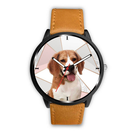Beagle Dog Print Wrist Watch- Free Shipping