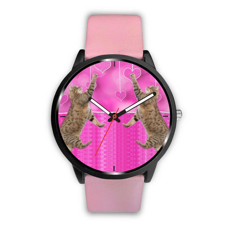 Pixie-bob Cat Print Wrist Watch-Free Shipping