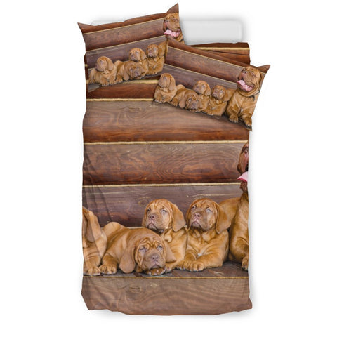 Bordeaux Mastiff Print Bedding Set- Free Shipping