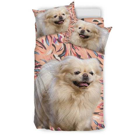 Pekingese Dog Print Bedding Set- Free Shipping
