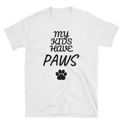 """My Kids Have Paws"" Tee"