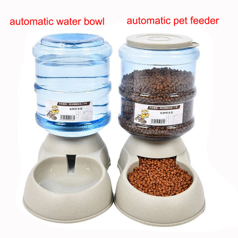 3.5L Large Automatic Pet Feeder or Drinking Fountain
