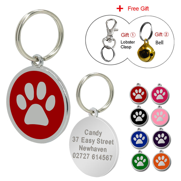 FREE Dog Pendant with Engraving
