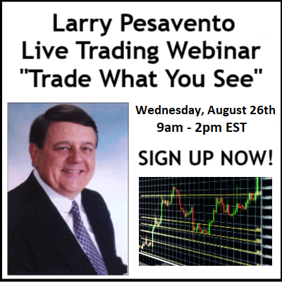 "Larry Pesavento ""Trade What You See"" Live Trading Event"