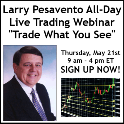 "Larry Pesavento ""Trade What You See"" All-Day Live Trading Event"