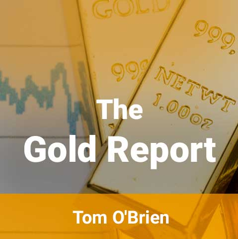Gold Report Newsletter by Tom O'Brien Includes Free Book