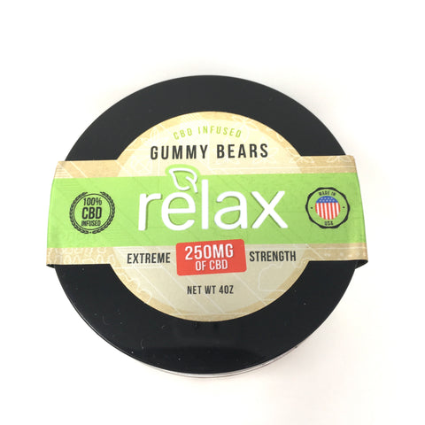 Relax CBD Gummies - 250mg CBD