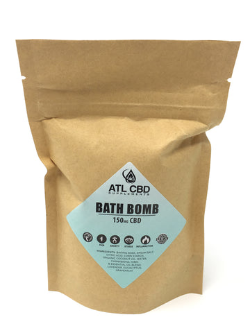 CBD Bath Bomb 3-PACK- 150mg per bomb