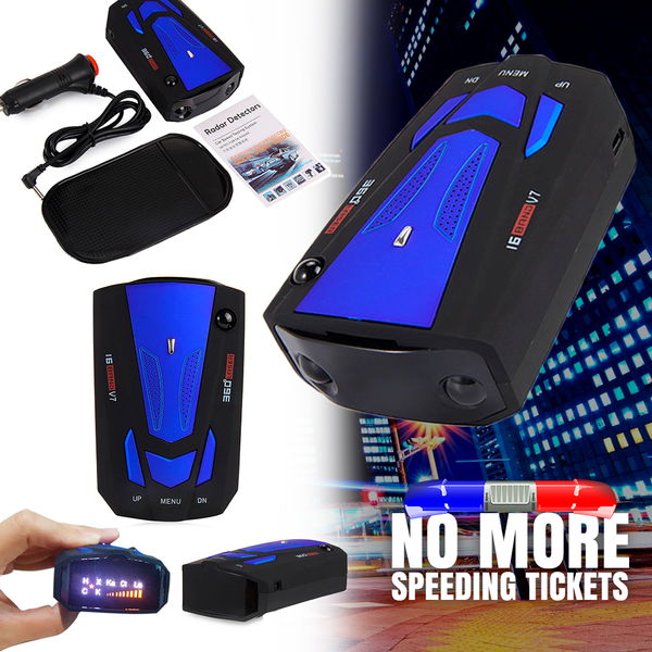 RADAR DETECTOR - NO MORE SPEEDING TICKETS!