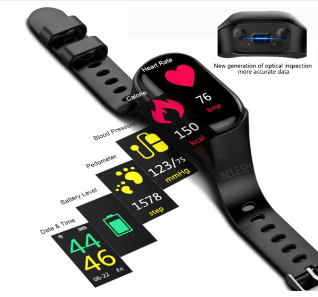 NEW UPGRADE SMARTWATCH BLUETOOTH WIRELESS EARBUDS 2 IN 1