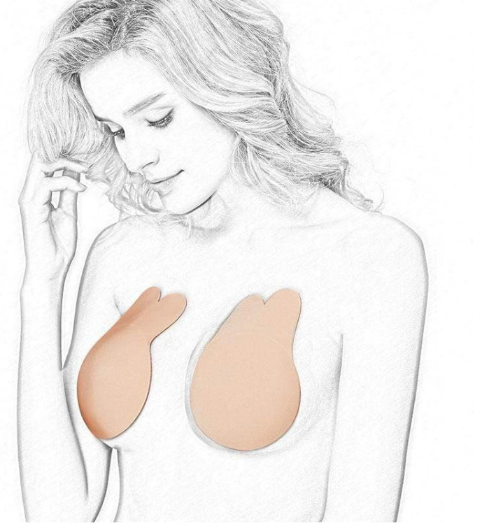 INVISIBLE BREAST LIFT CUPS ( PAIR )