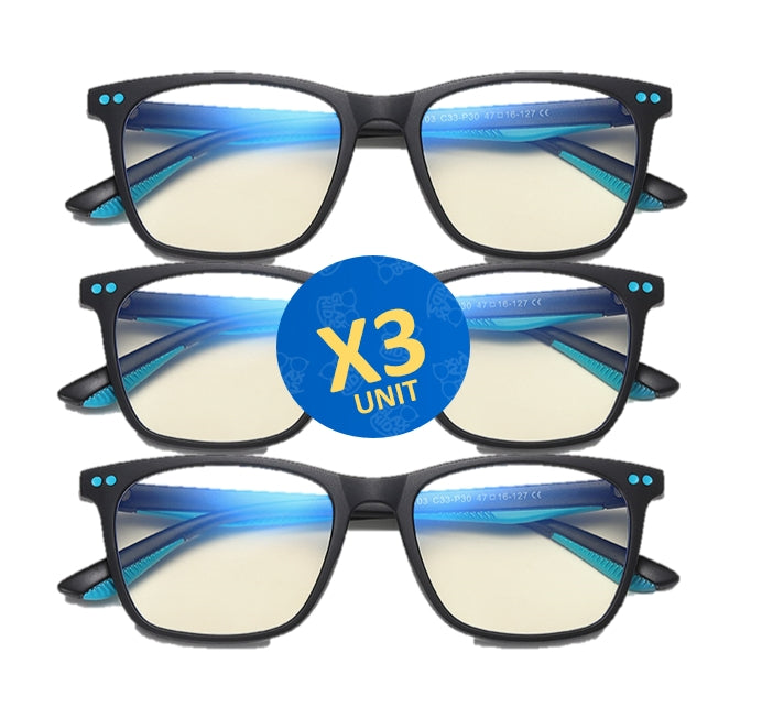 Computer Glasses For Kids. Glax Kids™2020 x3
