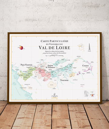 Wine Map of the Loire Valley