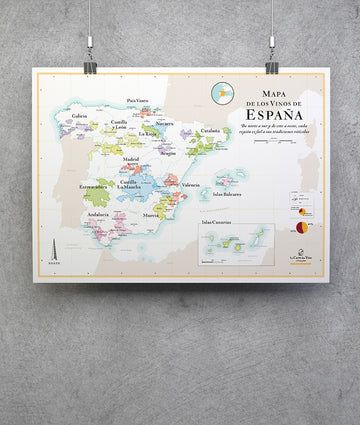 Wine Map of Spain