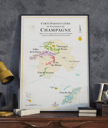 wine map of champagne