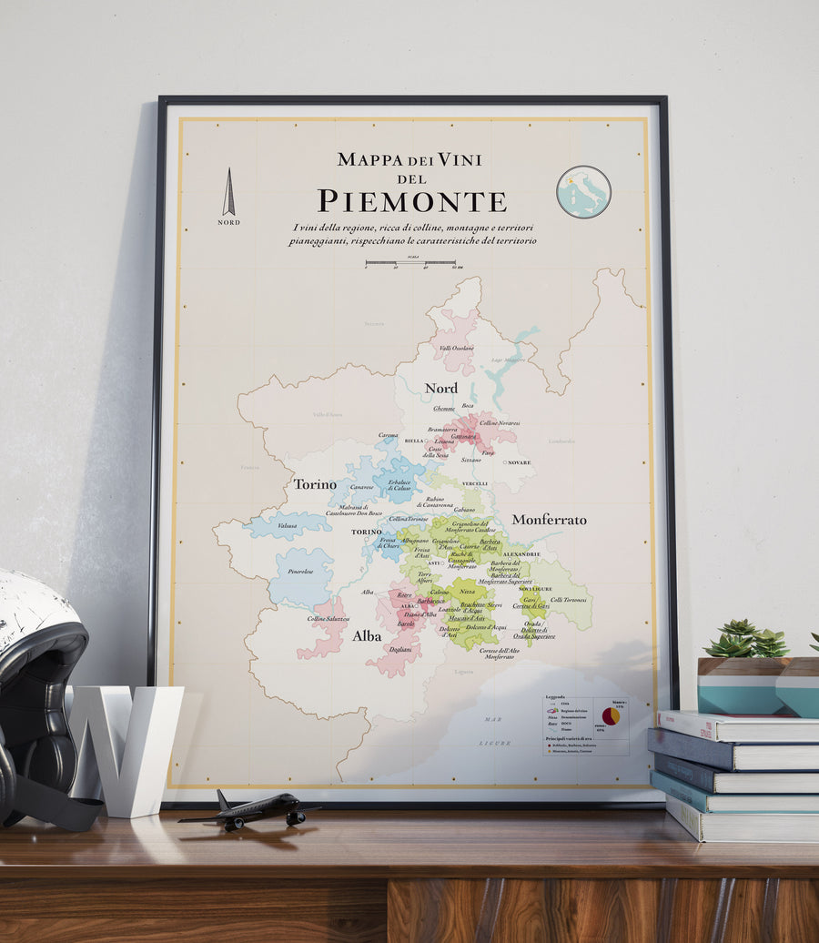 wine map of piedmont piemonte