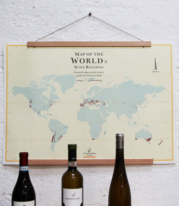 Wine Map Of The World